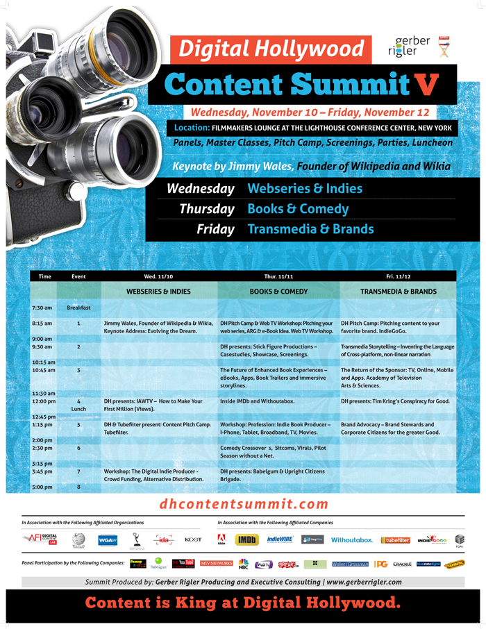 Digital Hollywood Content Summit